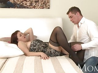MOM Horny MILF is so grateful to finally the feeling man in their way b
