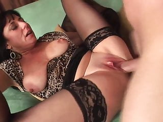 Crestfallen mature in stockings fucks to be sure ' good (TOP MATURE)