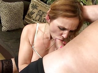 Horrific busty mature mom fucks not her son