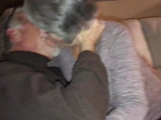 Mature hot gilf become man kisses neighbor