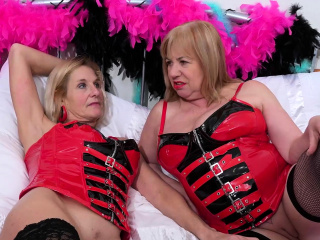 OldNannY Two Busty Mature Lesbians Play Hot Games