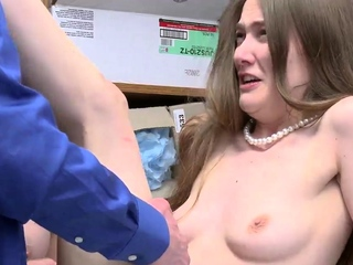 Hardcore moaning and brutal gangbang office battle-axe xxx