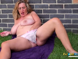 EuropeMaturE Compilation of Grown up Toying Solos
