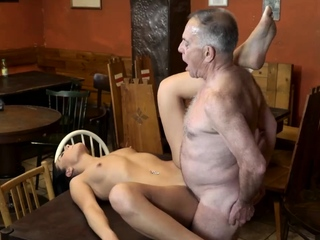 Daddy fucks girl In the final you trust your gf leaving her alone