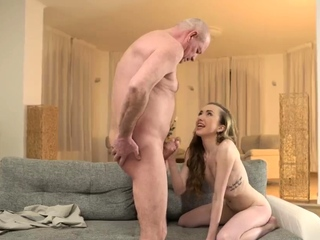 Old granny fucks monster cock and lick me cur� Russian Lang
