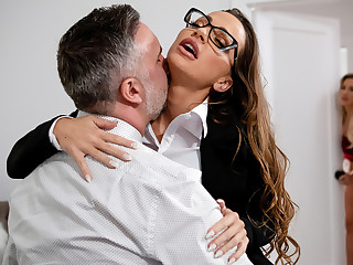 Amber In Hammer away Hills: Part 2 Free Video With Abigail Mac - BRAZZERS