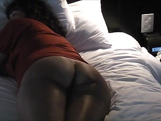Blowjob in the ass and cock for asian wife