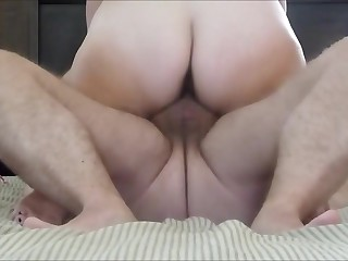 Mature couple fuck on gorge oneself