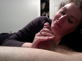 Hot pov blowjob facial