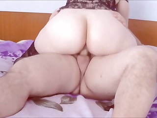 Horny PAWG Wife Riding Dick Until She Cums