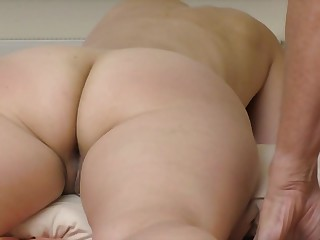 My wife big butt and asshole massage valiant orgasm