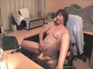 Oustandingly Dildo camshow