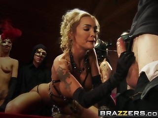 Brazzers - Real Wife Stories - Devon and Jordan Ash - Til Dick do us Ornament Episode 3