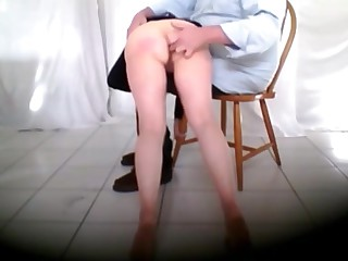 Spanked fondled and fingered