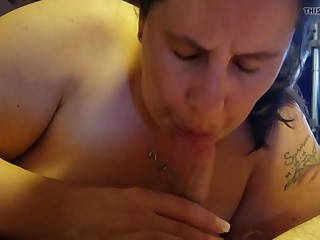Point of view blow job