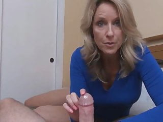 Blue Mom Creampie