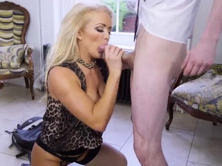 Hot old milf masturbation hd Having Her Way With A Rookie