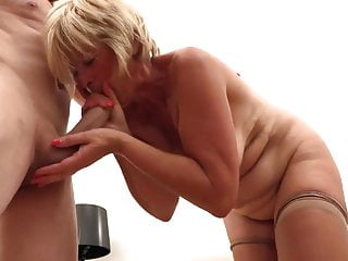 Blonde mature loveliness loves sex