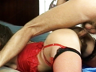 busty stepmom's hairy pest destroyed