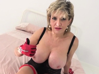 However long can you last with big tit cougar Lady Sonia?