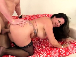 Golden Slut - Mature Bent Over Comp 12