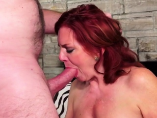 Gilded Slut - Older Lady Blowjob Comp 16
