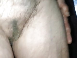 visited my very old aunt again, great saggy tits, hairy pussy