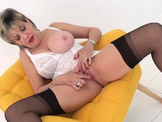 Watching you wank gets Lady Sonia's pussy wet