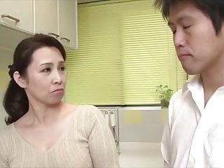 Japanese hot female parent big Daddy with stepson