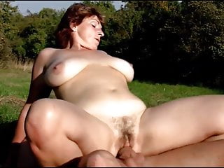 Beamy Busty Mature Redhead Collection