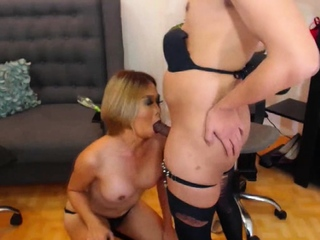 Gorgeous Shemale Huge Cock Sucking By Say no to Partner