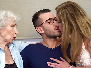 Taboo hot sex with moms and grannies