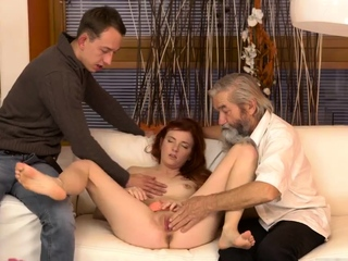 Daddy teaches anal xxx Unexpected experience with an