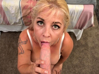Big Tits MILF Joclyn Stone Talks Dirty While Taking Big Cock