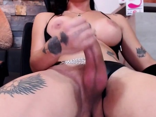 Shemale plows beautiful transsexual