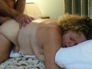 Mature MILF slut gets their way honeypot drilled by a sex-mad stud