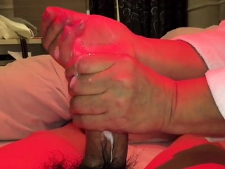 Japanese full-grown handjob2
