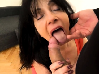 MATURE4K. Woman is old but still wants to bonk so boss