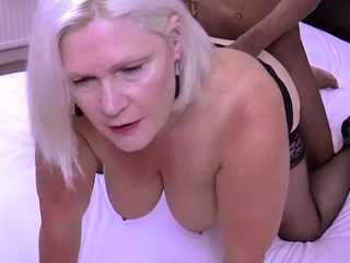 GRANNYLOVESBLACK - You Cant Go Wrong Forth Big Black Dong