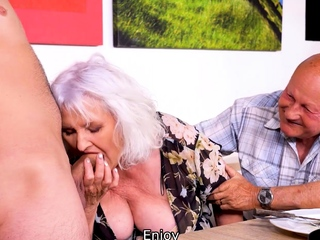 MATURE4K. Hey, waiter! A coffee for me and a indestructible cock