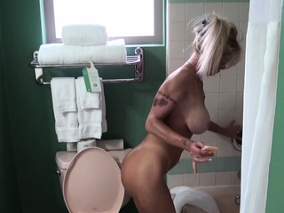Comme ‡a at hand chunky boobs fucked from ignore before tit wanking