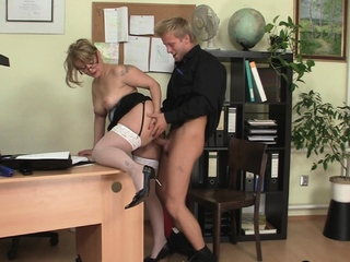 Cock-hungry tryst mature generalized and chum