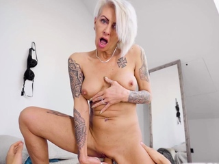 Giving my horny stepgrandma in all directions from make an issue of needs she is craving for